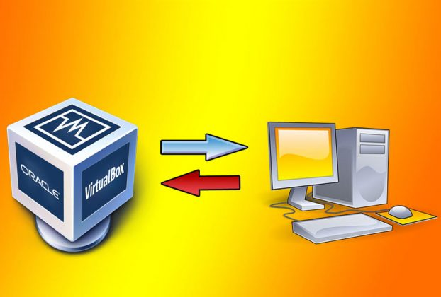 Transferir Arquivos do computador para o VirtualBox