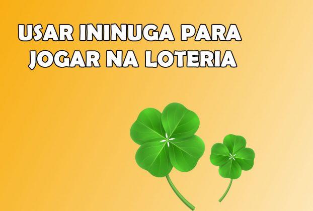 Como Usar o Ininuga para jogar na loteria