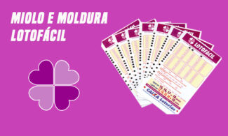 Miolo e Moldura Lotofácil